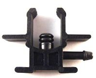 "Delphi C.R. Injector Return clip on ""L"" Plastic"